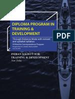 ISTD Diploma Brochure 2018