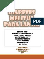 Diabetes Melitus Pokja Lansia