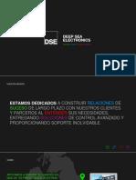 DSE Company Presentation 2018 - Spanish