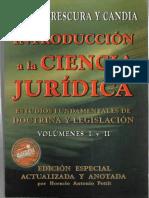 Frescura y Candia - Introd a La Ciencia Jurídica