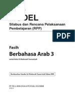 RPP Berbahasa Arab MTs 3 R1(2)