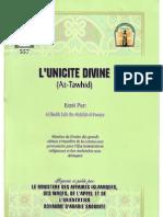 L'Unicité Divine (cheikh Salih Ibn Fawzan Al-Fawzan)