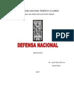 Defensa Nacional - Lectura semana 4 - pag  20 a 26.pdf