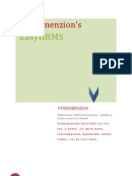 NthDimenzion's EasyHRMS - Product Datasheet