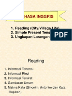 reading- (cityvillagelife)-simple-present-tense.ppt