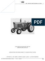 Manual de Partes de Tractor 3020