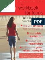 !!!the Bipolar Workbook for Teens - DBT Skills to Help You Control Mood Swings - Sheri Van Dijk