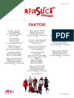 T Faktor