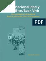 Schavelzon, Salvador (2015) Plurinacionalidad y Vivir BienBuen Vivir