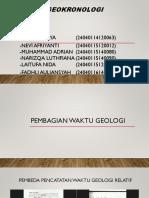 Kelompok 1 (Geokronologi)