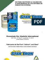 STARTRON - Seminario Combustibles