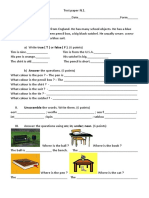 Test Paper n1cl5