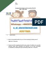 حل , واجب , b222b 00966597837185 ~ حلول واجبات الجامعـة العربية المفتوحة