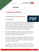 Módulo 1 Marketing Estratégico