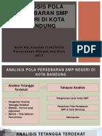 Analisis Pola Persebaran SMP Negeri Di Kota Bandung (01)