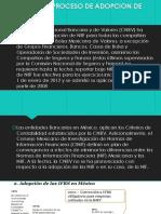 PROCESO DE ADOPCION DE NIIF A IFRS
