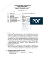 Silabo Etica y Deontologia 2018-2