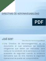 Directivas de Aeronavegabilidad y Boletines de Servicio