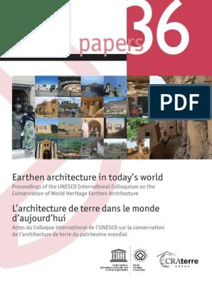 Earthen Architecture In Todays World Site Du Patrimoine