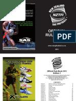Nztfi Rulebook 2011 Edition 2_final