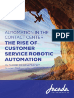 The Rise of Customer Service Robotic Automation Whitepaper