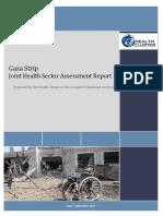 Joint Health Sector Assessment Report Gaza Sept 2014