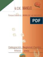 Plan de manejo Parque Nacional Sierra de las Quijadas