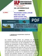 ppt Maquinaria Pesada