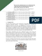 ENSAIO DE observação de absorção de agua por solos de diferentes tipos de granulometria realizado no laboratorio de solo do unipam.docx