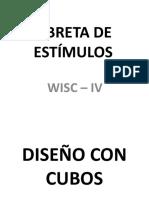 Libreta de Estimulos Wisc - IV