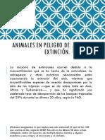 Animales en Peligro de Extincion EQUIPO 9