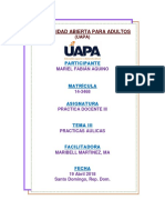 Practica Docente III Tarea 2 - UAPA