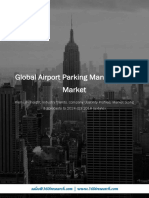 Global Airport Parking Management Market - Premium Insight, Industry Trends, Company Usability Profiles, Market Sizing & Forecasts to 2024 (Q3 2018 Update)