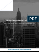 Global Drone Analytics Market - Premium Insight, Industry Trends, Company Usability Profiles, Market Sizing & Forecasts to 2024 (Q3 2018 Update)