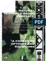 Natural Resource-based Conflict