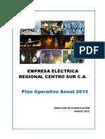 k) Plan Operativo Anual 2015 - En Proceso de Aprobación_1