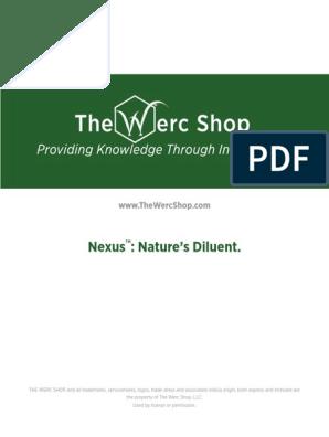 Nexus Natures Diluent | Glycerol | Polyethylene Glycol