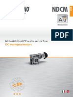 217id Transtecno DC Worm Gearmotors NDCM 150923 2