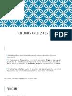 Circuítos anestésicos