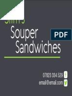 Slim's Souper Sandwiches
