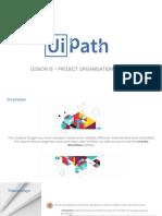 Lesson 1 Introduction to UiPath Recap