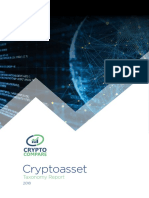 Cryptocompare Cryptoasset Taxonomy Report 2018