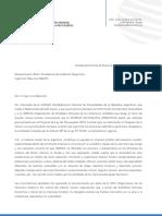 Carta UMM a Mauricio Macri