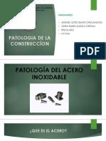 Patologia Del Acero Inoxidable 1