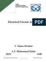 Electrical Circuits Analysis