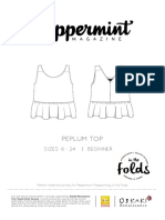 Peppermintmagazine Peplum.top Instructions