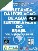 Volume 1- Legislação Da Águas Subterrâneas Da Região Sudeste