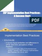 best practice implementation