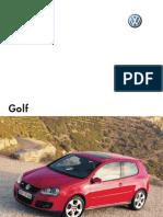 Manual Service Golf 5