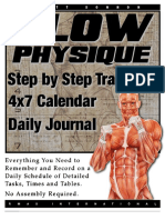 Primal Stress Training 4x7 Calendar